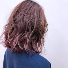 アンニュイ ブリーチ ピンク スポーツ ヘアスタイルや髪型の写真・画像