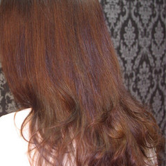 上品 エレガント 縮毛矯正 デジタルパーマ ヘアスタイルや髪型の写真・画像