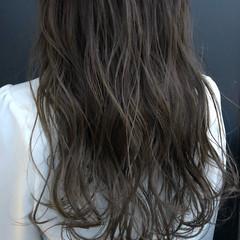透明感 ロング イルミナカラー ナチュラル ヘアスタイルや髪型の写真・画像