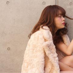 外国人風 ガーリー パーマ ゆるふわ ヘアスタイルや髪型の写真・画像
