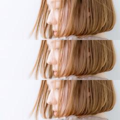 ミニボブ ボブ まとまるボブ ショートボブ ヘアスタイルや髪型の写真・画像