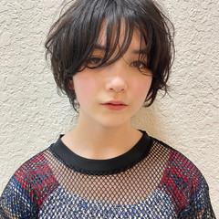 ショートヘア ショートボブ ショート ハンサムショート ヘアスタイルや髪型の写真・画像