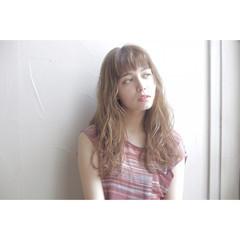 ナチュラル ロング ヘアアレンジ ブラウン ヘアスタイルや髪型の写真・画像