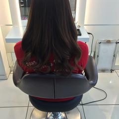 ナチュラル フェミニン ロング グラデーションカラー ヘアスタイルや髪型の写真・画像