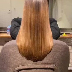 ロング 髪質改善 ストリート 最新トリートメント ヘアスタイルや髪型の写真・画像