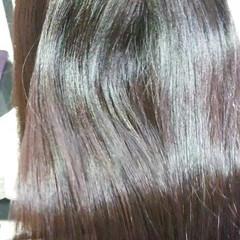 ナチュラル 超音波 髪質改善 トリートメント ヘアスタイルや髪型の写真・画像