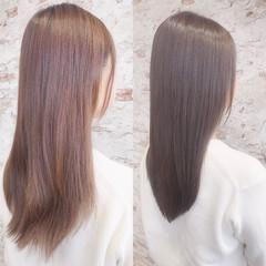大人可愛い 艶髪 透明感 フェミニン ヘアスタイルや髪型の写真・画像