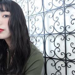 アンニュイ リラックス ロング 外国人風 ヘアスタイルや髪型の写真・画像