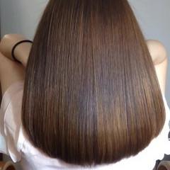 フェミニン グラデーションカラー セミロング 大人かわいい ヘアスタイルや髪型の写真・画像