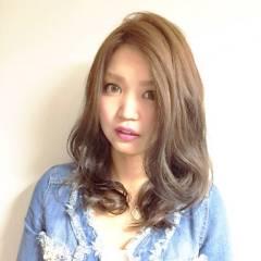 セミロング 大人かわいい モテ髪 ナチュラル ヘアスタイルや髪型の写真・画像