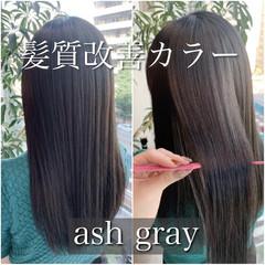 ナチュラル 髪質改善 ロング 髪質改善カラー ヘアスタイルや髪型の写真・画像