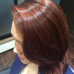 ピンク キュート 春 ガーリー ヘアスタイルや髪型の写真・画像