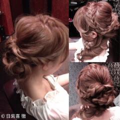 外国人風 ロング 夏 ヘアアレンジ ヘアスタイルや髪型の写真・画像