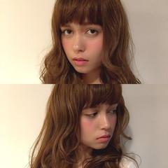 ガーリー 大人かわいい ピュア ロング ヘアスタイルや髪型の写真・画像