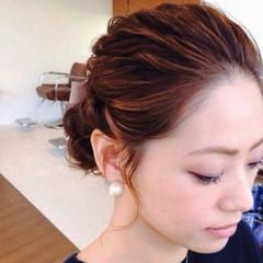 簡単ヘアアレンジ ラフ ヘアアレンジ ショート ヘアスタイルや髪型の写真・画像