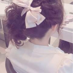 大人かわいい フェミニン ミディアム ガーリー ヘアスタイルや髪型の写真・画像