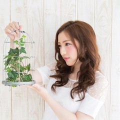 外国人風 ヘアアレンジ 大人かわいい フェミニン ヘアスタイルや髪型の写真・画像