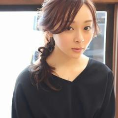 透明感 大人かわいい フェミニン ヘアアレンジ ヘアスタイルや髪型の写真・画像