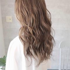 エレガント アッシュグレージュ 女子力 簡単ヘアアレンジ ヘアスタイルや髪型の写真・画像
