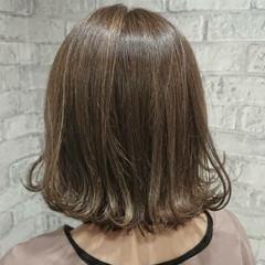 こなれ感 切りっぱなし 外ハネ ガーリー ヘアスタイルや髪型の写真・画像