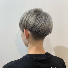シルバー ストリート メンズ ショート ヘアスタイルや髪型の写真・画像