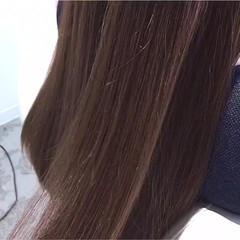 トリートメント 艶髪 オフィス エレガント ヘアスタイルや髪型の写真・画像