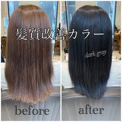 ナチュラル ロング ロングヘア 髪質改善カラー ヘアスタイルや髪型の写真・画像