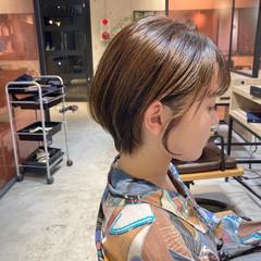 ハンサムショート ベリーショート ナチュラルデジパ メンズスタイル ヘアスタイルや髪型の写真・画像