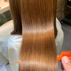 サイエンスアクア 髪質改善 ナチュラル 髪質改善トリートメント ヘアスタイルや髪型の写真・画像