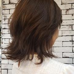 フェミニン 大人カジュアル ミディアム お手入れ簡単!! ヘアスタイルや髪型の写真・画像