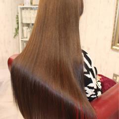 コンサバ ストレート トリートメント 艶髪 ヘアスタイルや髪型の写真・画像