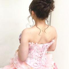 ブライダル アップ ヘアセット 結婚式 ヘアスタイルや髪型の写真・画像