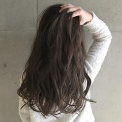 ゆるふわ 外国人風 ブラウン 大人かわいい ヘアスタイルや髪型の写真・画像