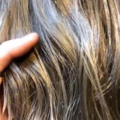 ゆるふわ ダブルカラー ヘアアレンジ モード ヘアスタイルや髪型の写真・画像