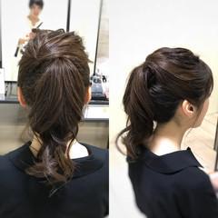 すっきり イベント ヘアアレンジ ナチュラル ヘアスタイルや髪型の写真・画像