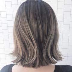 イルミナカラー ボブ ブリーチカラー ストリート ヘアスタイルや髪型の写真・画像