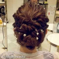 アンティーク コンサバ フェミニン 大人かわいい ヘアスタイルや髪型の写真・画像