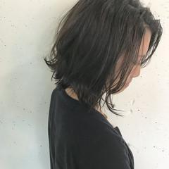 ストリート ボブ アッシュ 暗髪 ヘアスタイルや髪型の写真・画像