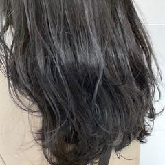 韓国ヘア 3Dハイライト ナチュラル アッシュ ヘアスタイルや髪型の写真・画像
