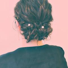 大人女子 ショート 簡単ヘアアレンジ パーティ ヘアスタイルや髪型の写真・画像