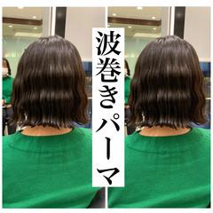 切りっぱなしボブ  韓国ヘア ボブ ヘアスタイルや髪型の写真・画像