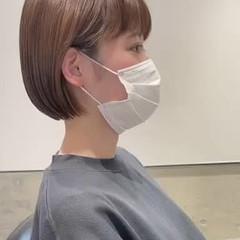 ショートヘア ナチュラル ニュアンスヘア ショートカット ヘアスタイルや髪型の写真・画像