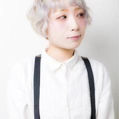 ハイライト ガーリー 冬 ピュア ヘアスタイルや髪型の写真・画像