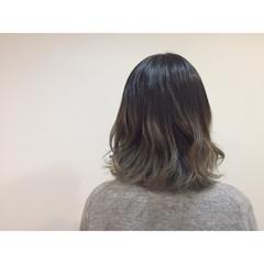 ハイライト 外国人風 ストリート アッシュ ヘアスタイルや髪型の写真・画像