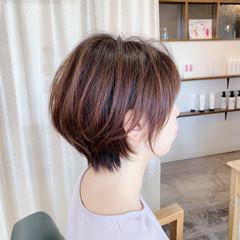 ベリーショート インナーカラー ショートヘア ショート ヘアスタイルや髪型の写真・画像