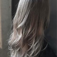 フェミニン セミロング ロブ ヘアスタイルや髪型の写真・画像
