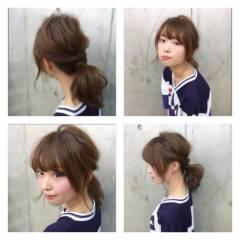 ストリート モテ髪 愛され スポーツ ヘアスタイルや髪型の写真・画像