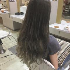ハイライト 上品 秋 ロング ヘアスタイルや髪型の写真・画像