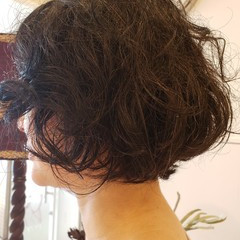 ナチュラル ボブ こなれ感 ヘアスタイルや髪型の写真・画像