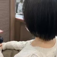 ナチュラル ショート 髪質改善トリートメント ヘアスタイルや髪型の写真・画像